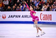 Satoko Miyahara of Japan competes during Day 6 of the ISU World Figure Skating Championships 2016 at TD Garden on April 2, 2016 in Boston, Massachusetts.