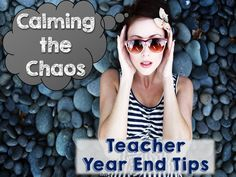 Blog hop with fabulous end of the year teaching tips for middle / secondary school!