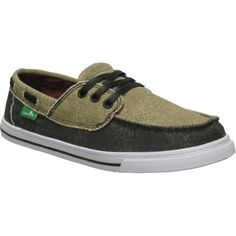 Sanuk Chum Boys Youth Sidewalk Surfers Casual Footwear – Tan/Black / Size 06 at http://suliaszone.com/sanuk-chum-boys-youth-sidewalk-surfers-casual-footwear-tanblack-size-06/