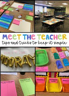 Meet the Teacher 2017 | Teach. Run. Create.