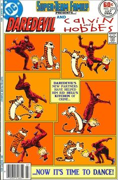 Daredevil / Calvin and Hobbes crossover