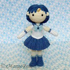Sailor Mercury -Amigurumi Doll -Crochet Pattern