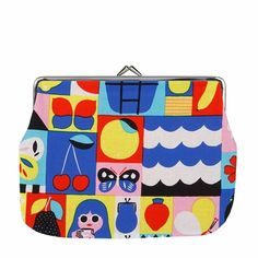 Marimekko Rantsu Multicolor Large Coin Purse - Click to enlarge