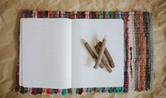 How to Make a Fabric Bound Notebook