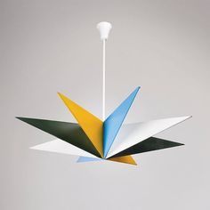 Ceiling light designed by Franco Buzzi and produced by Arteluce of Italy in the 1940's. #mcmdaily #arteluce #francobuzzi #italy mcmdaily.com