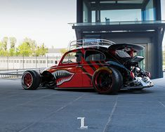 Fast sketch of mad and wide Volkswagen Beetle with Posrche wing, Hot Wheels inspired. Volkswagen, Custom Muscle Cars, Custom Cars, Combi Wv, Vw Rat Rod, Custom Rat Rods, Vw Super Beetle, Vw Vintage, Beach Buggy