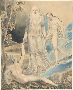 Angel of the Divine Presence Bringing Eve to Adam (The Creation of Eve: William Blake