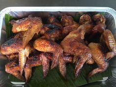 Spicy lemongrass chicken wing 😜