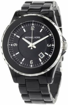 awesome Michael Kors Women's MK5248 Black and Silver Madison 3 Hand Watch  –  Hand