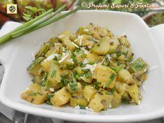 Contorno semplice con zucchine Blog Profumi Sapori & Fantasia