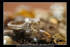 Photo by Impressions Photo and Video http://impressionsphotoandvideo.com/#Photography #WeddingPhotography #NJWeddings #WeddingRing #BeautifulRings