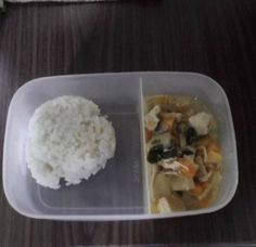 Hungry? Today we're feeding 500 at Holy Spirit School they'll be tucking into:  Papaya Guisado with Tofu and Chicken flakes and Rice!  #dishoftheday