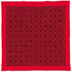 Woolen Amish/Mennonite quilt in Diamonds pattern, c. 1885.  International Quilt Study Center, University of Nebraska Lincoln