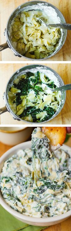 Easy Spinach Artichoke Dip – made in just 30 minutes
