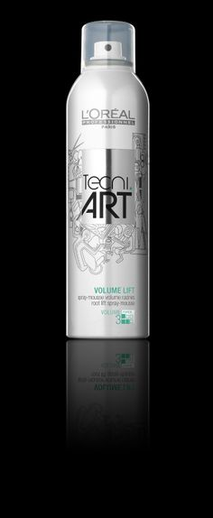 Apply Tecni.ART VOLUME LIFT to the roots of the hair