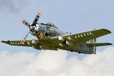 Us Navy Aircraft, Us Military Aircraft, Ww2 Aircraft, Fighter Aircraft, Fighter Jets, Propeller Plane, Fixed Wing Aircraft, Douglas Aircraft, Close Air Support