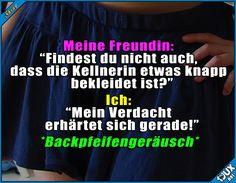Falsche Antwort! #Freundin #eingeschnappt #Humor #lustigeBilder #Jodel #Sprüche #Witze #Statussprüche Humor
