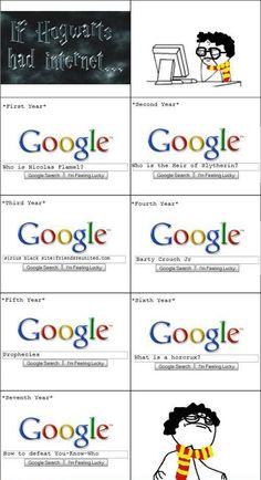 If harry potter had internet !!!!