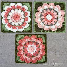 Rachael Square ~ free pattern ᛡ