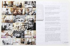 Around The Table by Ali Edwards using the Gatherings Story Kit™ and Story Stamp™