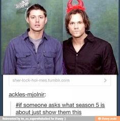 Basically. Luci and Michael and Sam and Dean.