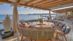 Buddha Bar Beach - Santa Marina, Mykonos The Place, the Food, the Music, the Experience.