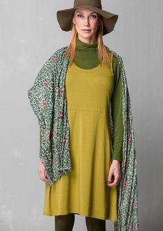 Ensfarvet underkjole i modal/elastan–EFTERÅRSNYHEDERNE–GUDRUN SJÖDÉN – Kläder Online