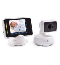 This is by far the coolest baby monitor we've seen: Summer Infant BabyTouch Digital Video Monitor #registry