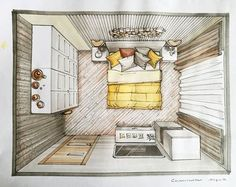New eye ilustration design sketch Ideas Rendering Interior, Interior Architecture Drawing, Interior Design Renderings, Drawing Interior, Interior Sketch, Interior Design Tips, Interior Design Living Room, Architecture Design, Interior Ideas