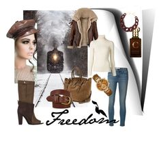 Freedom by classicstyle4u on Polyvore featuring Emanuel Ungaro, Frame Denim, 3.1 Phillip Lim, Ralph Lauren, Michael Kors, DIANA BROUSSARD, Christian Dior, Accessorize, WALL and Clive Christian
