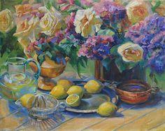 Lemonade & Lilacs, oil