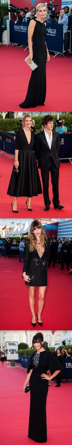 39th Deauville American Film Festival Opening Ceremony Red Carpet Finale  - http://www.becauseiamfabulous.com/2013/08/39th-deauville-american-film-festival-opening-ceremony-red-carpet-finale/