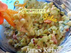 Cool Cucumber Salsa #summer #salsa #healthy