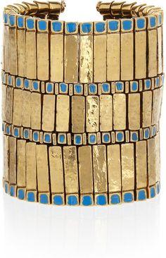 Aurelie Bidermann Mendoza 18karat Goldplated Bracelet   dressmesweetiedarling