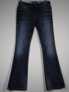 Joe's Jeans Size Measures 29 x 31 Provocateur Courtney Distressed Blue Jeans