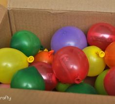 Send a box full of balloons with notes/money inside each one. Won't weigh much to ship!
