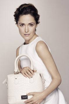 Oroton Spring '15 campaign image, starring Rose Byrne. [Photo by Boo George]