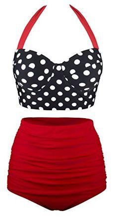 Angerella Polka High Waisted Cute Bikinis Swimwear Bathin... https://smile.amazon.com/dp/B01G1E0K12/ref=cm_sw_r_pi_dp_x_RgFPxbZ70F5FD