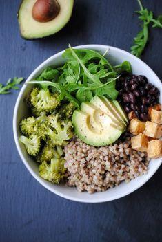 Vegan DETOX Buckwheat Salad