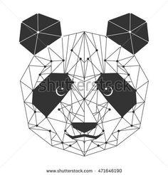 panda bear isolated icon vector illustration design