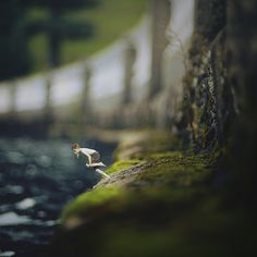 """This 14-year-old #photographer's portraits are nothing short of stunning. It's also the best utilization of a tilt-shift lens I've ever seen. (This one titled """"no more"""") -- Reminds me of working for my photographer godfather at 14."""