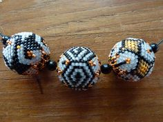 Beaded beads, pattern sabine lippert..