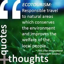 ecotourism ile ilgili görsel sonucu