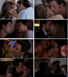 Mer&Der best moment - cartolina da grey's anatomy