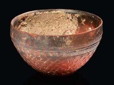 Hellenistic Megarian terracotta bowl. 1st century B.C.