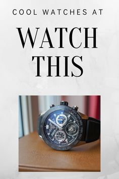 Take a look at www.no I have some grate pictures of trendy watches Trendy Watches, Cool Watches, Watches For Men, Rado, Seiko Watches, Tag Heuer, Casio Watch, Omega Watch, Cool Stuff