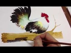 How to paint chicken in Watercolor Part 3