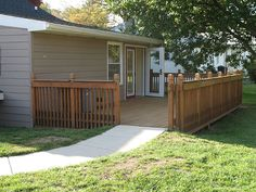 Universal design deck wheelchair accessible by bflosab, via Flickr