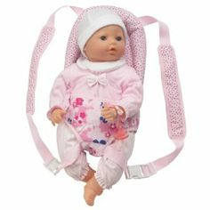 Corolle Les Classiques Nursery Baby Sling by Corolle. $34.99. Helps inspire fun and imaginative play. Made from high quality, modern fabrics. Thoughtfully designed and easy for your make-believe mommy to use. Designed for dolls 14-17 inches. For ages 3 years and older. From the Manufacturer                Help inspire imaginative play with essential baby doll accessories from Corolle. All accessories are made with the highest quality materials and are extremely du...