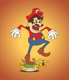Mario by Josh Legendre.